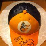 cake oriole hat